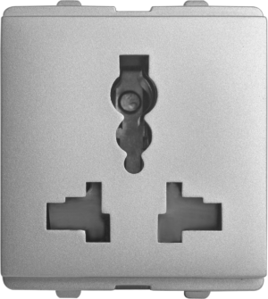 Multipurpose Intl Socket (Suitable For All Plug Pins) 2 Module